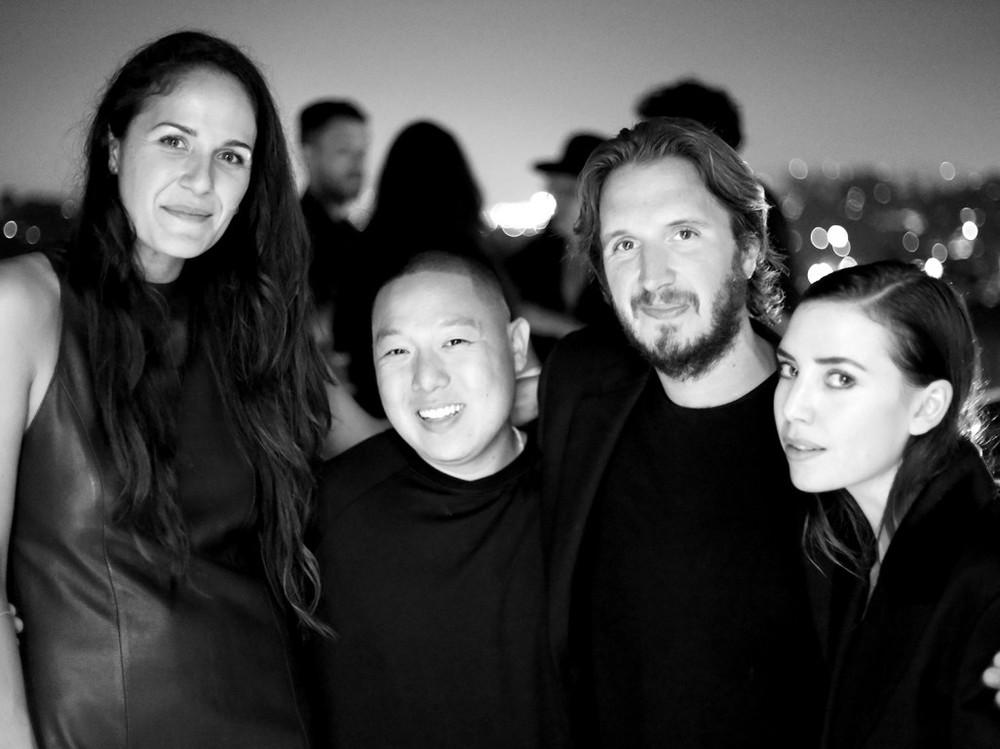 Gina Correll Aglietti, Eddie Huang, Emile Haynie and Lykke Li