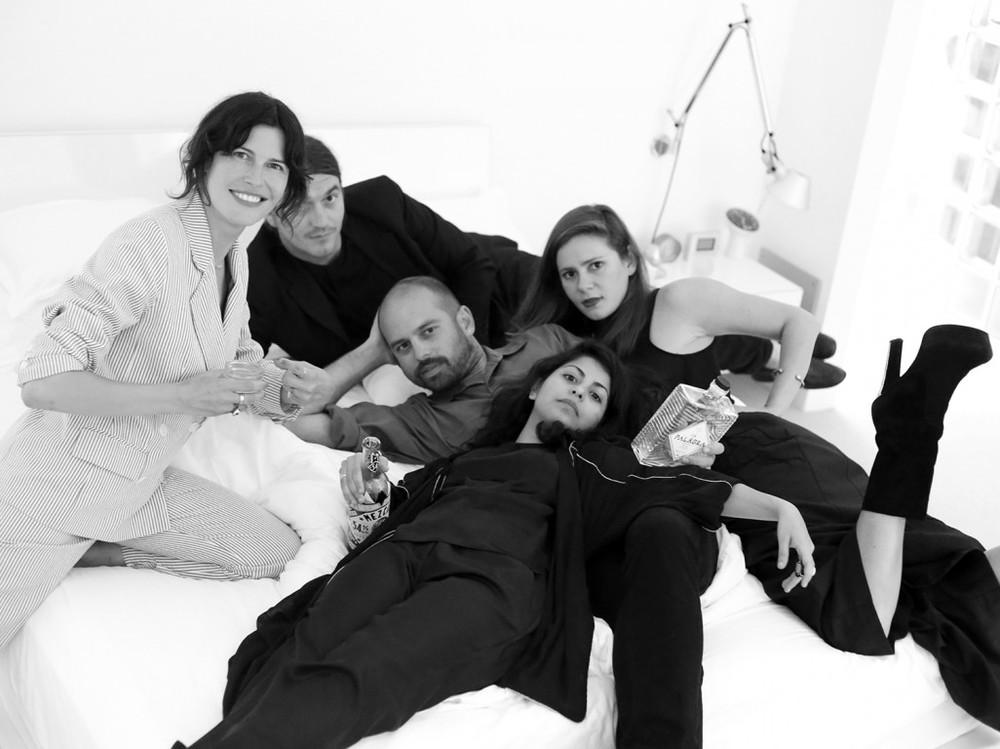 Tabitha Denholm, Miguel Perez, Juan Palacio, Luisa Yola Jimenez and Andrea Vargas Dieppa