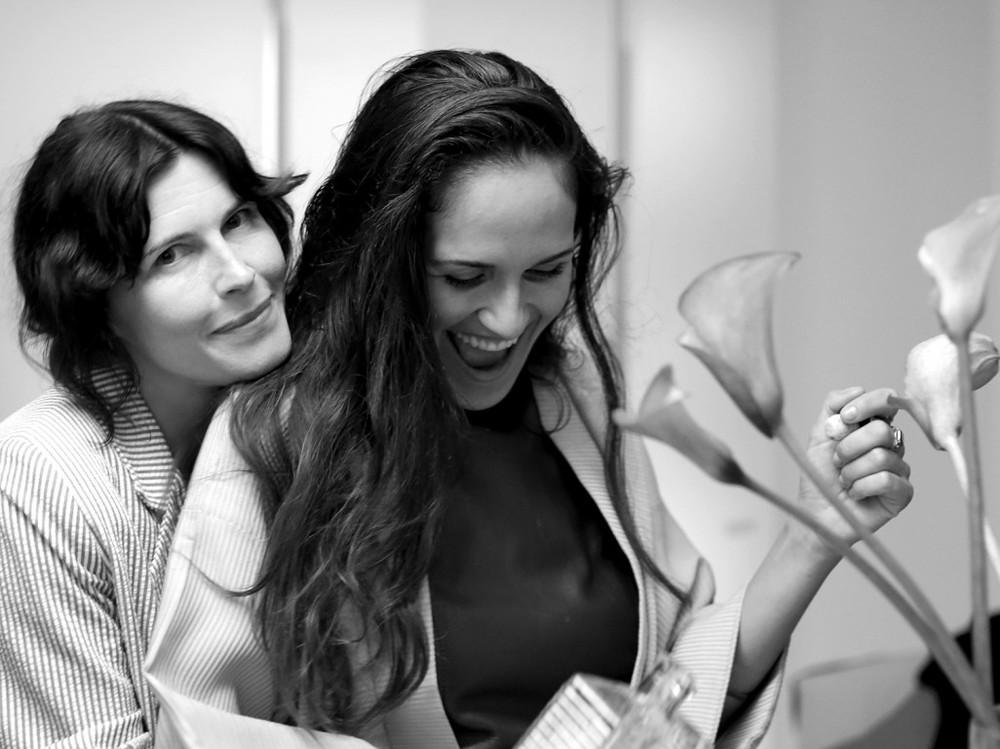 Tabitha Denholm and Gina Correll Aglietti