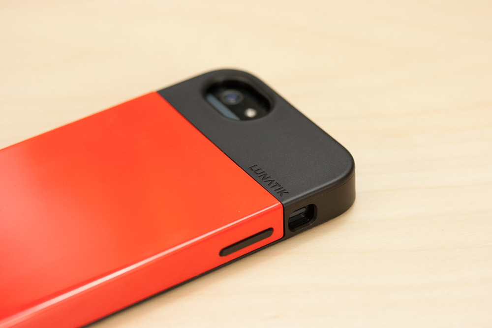 Lunatik Flak iPhone 5  - Red