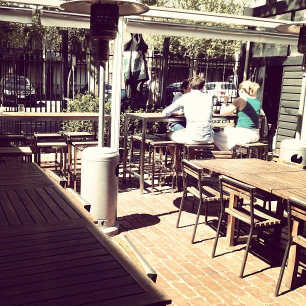 Sun shining in good old Melbourne #beergarden #sunshine #coldbeer