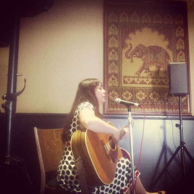 Rachael Byrnes kicks off the first of our Acoustic Sessions every Sunday at The Clyde Hotel #livemusic #songwriter