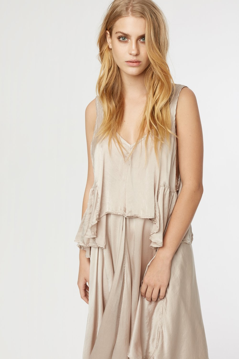 BOCS SINGLET & BOCS DRESS TAUPE