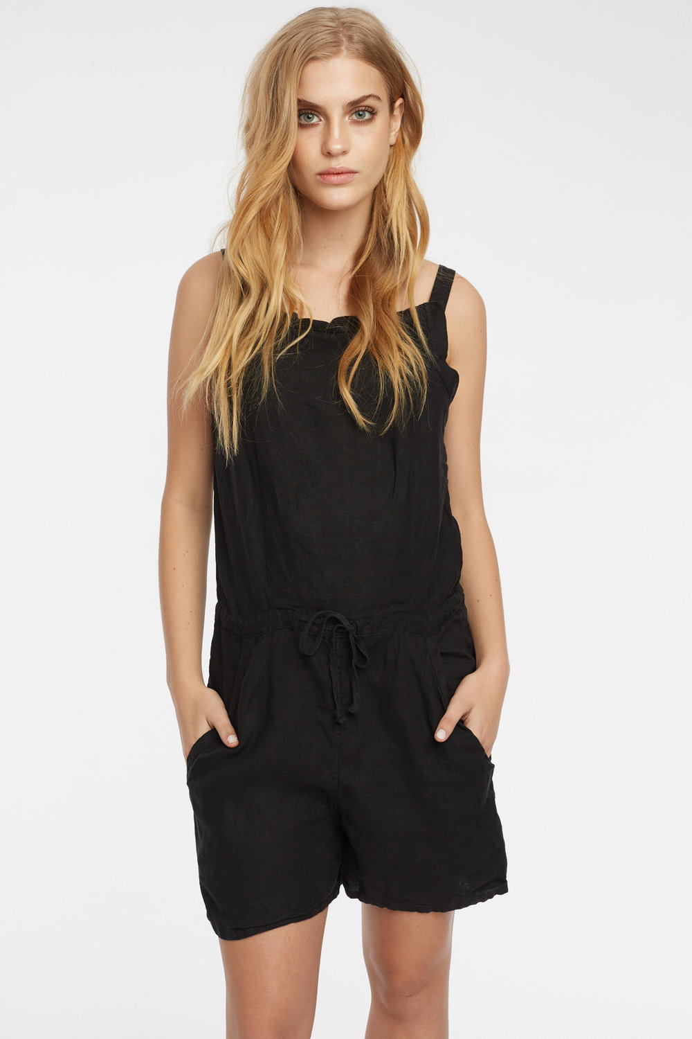LIN PLAYSUIT NOIR