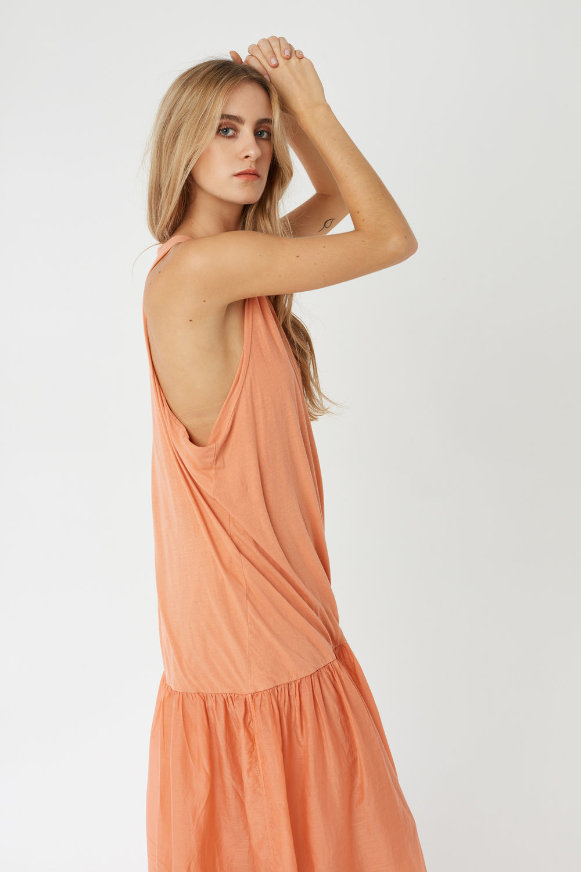 GYPSY DRESS TANGERINE