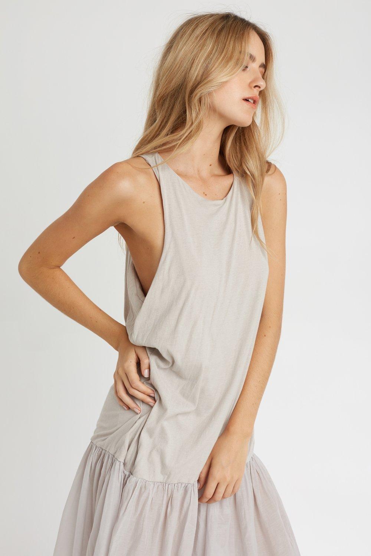 GYPSY DRESS SANDSTONE