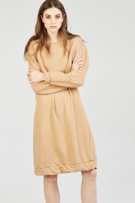 NEXTY JUMPER DRESS CLAY
