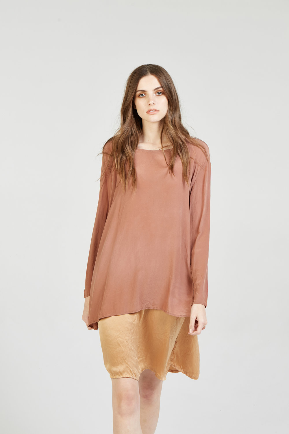 SUNCHASER SLIP CLAY. GIGI LS TOP ROSEWOOD