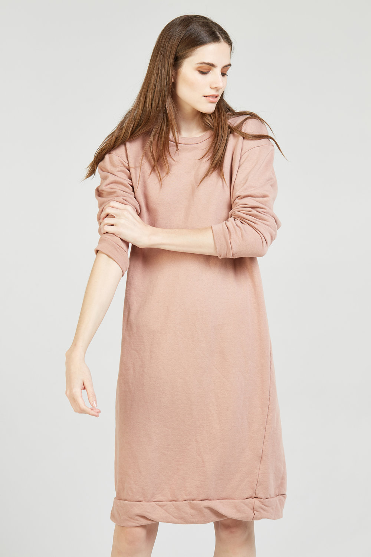 NEXTY JUMPER DRESS ROSEWOOD