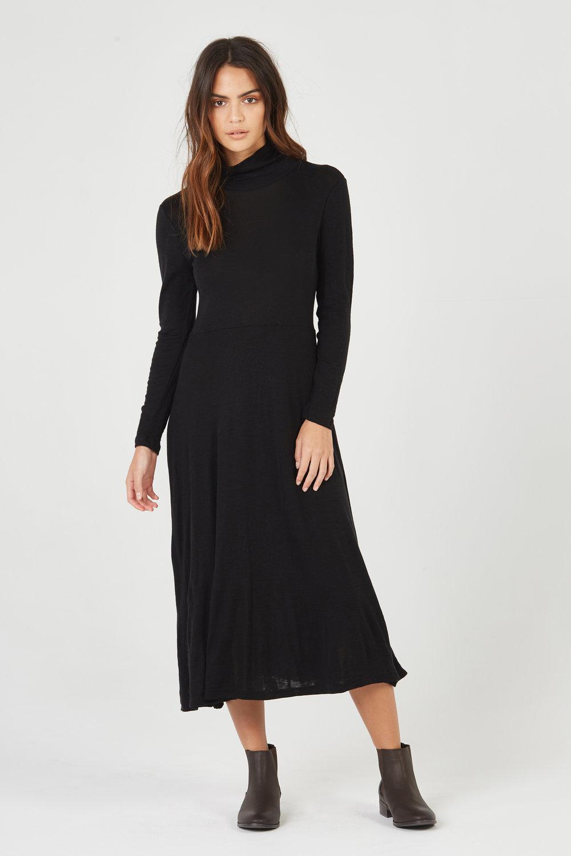 BOWIE DRESS BLACK