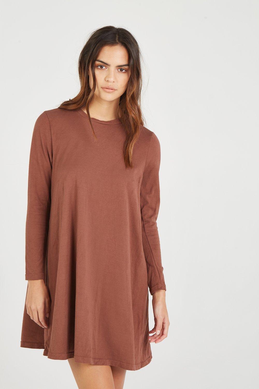 SHIFT DRESS AMBER