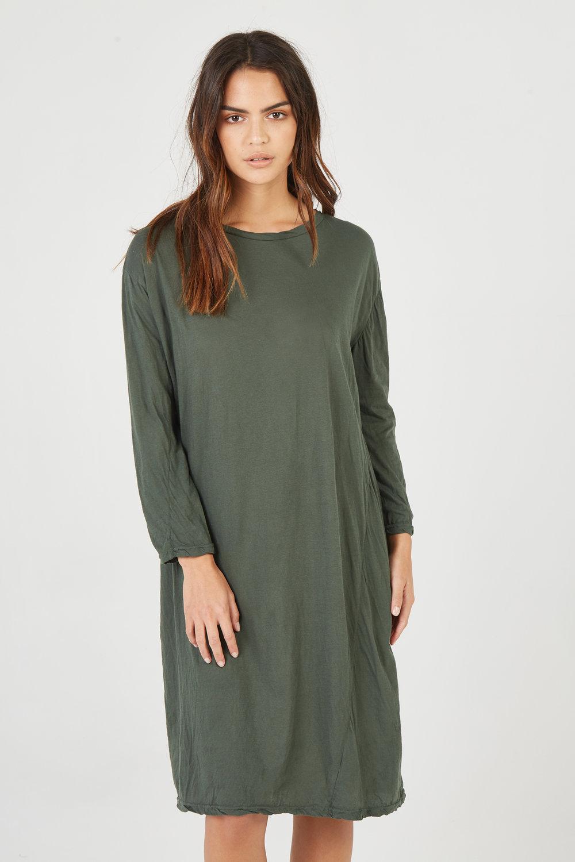 HAP L/S DRESS JUNIPER