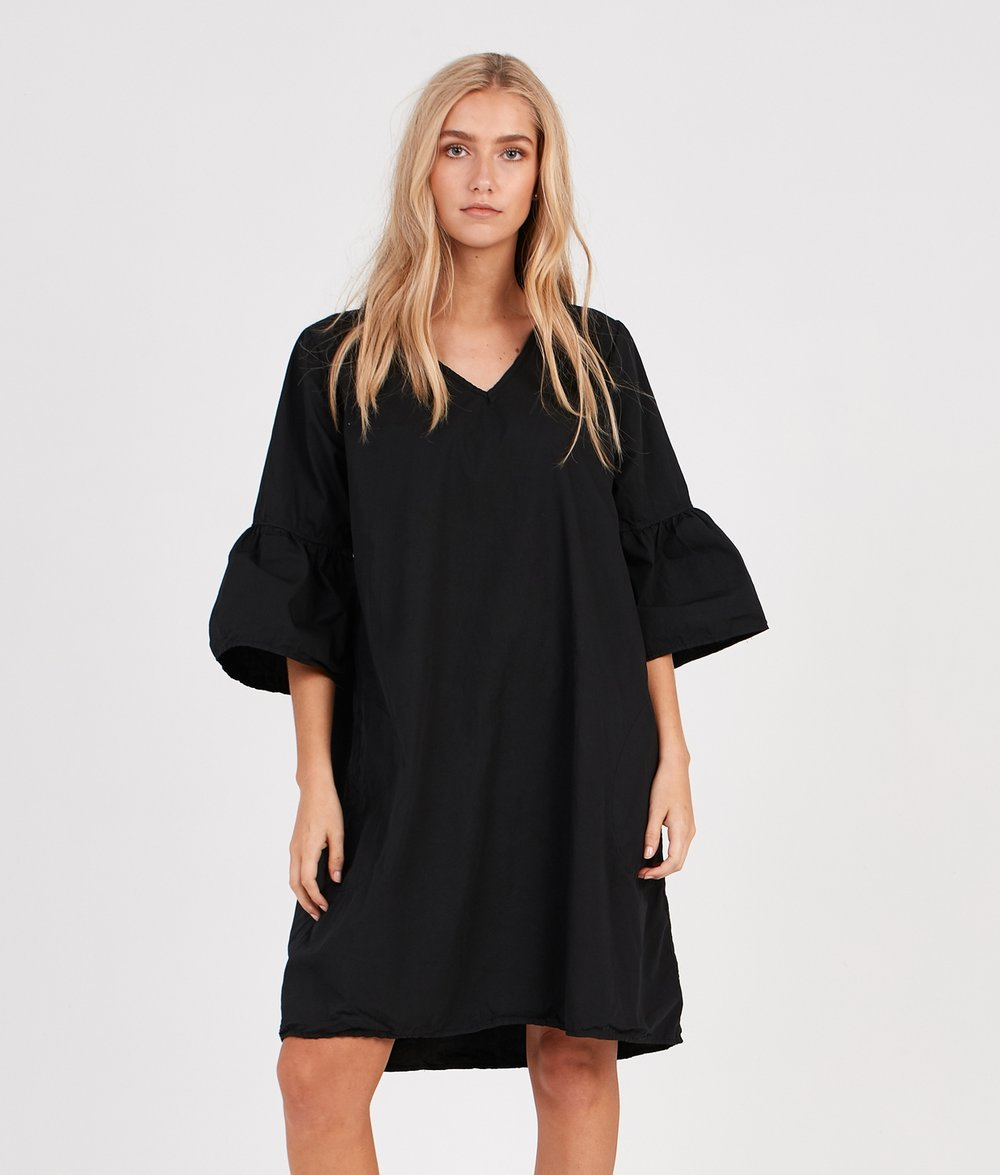 COCOON DRESS NOIR