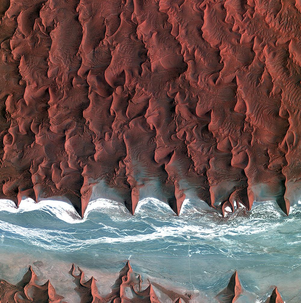 Namib Desert-Image Copyright KARI/ESA