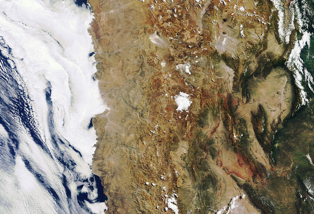 Atacama Desert-Image Copyright European Space Agency (ESA)