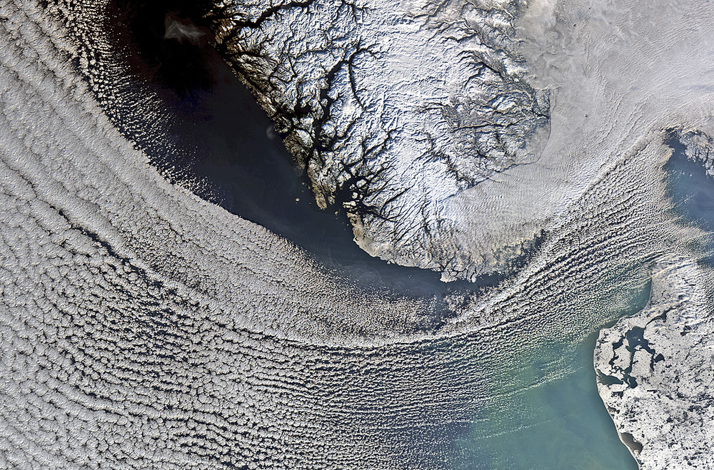 Scandinavian snows-Image Copyright European Space Agency (ESA)
