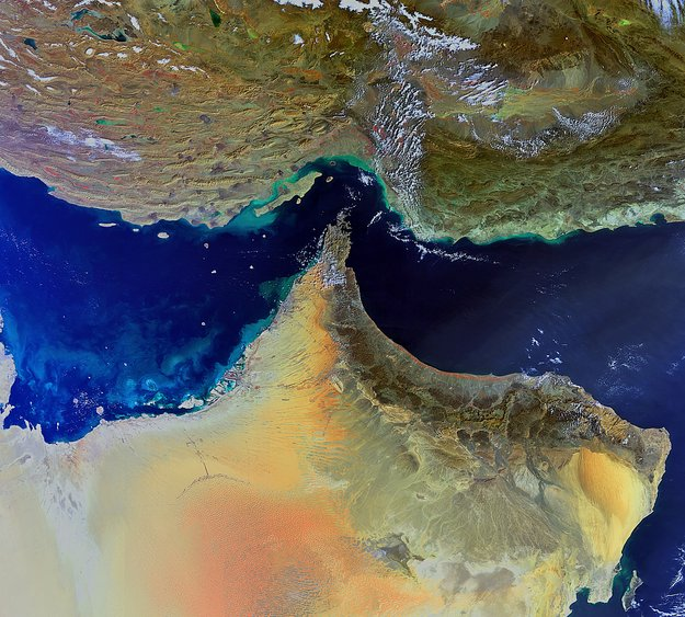 Middle Eastern terrain-Copyright European Space Agency (ESA)