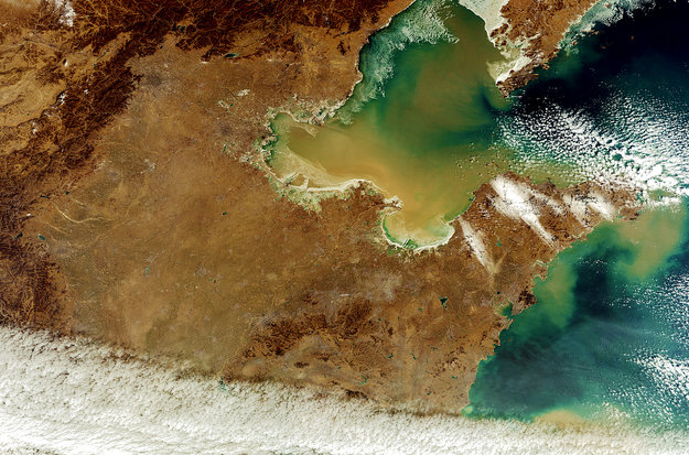 Northern China-Copyright European Space Agency (ESA)