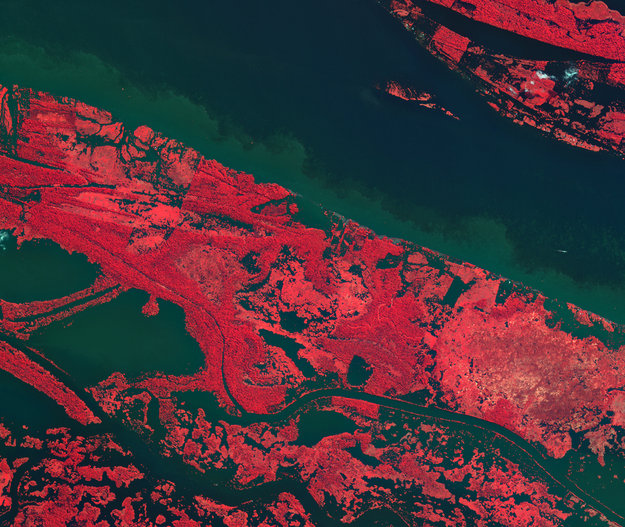 The Amazon River-Copyright KARI/ESA