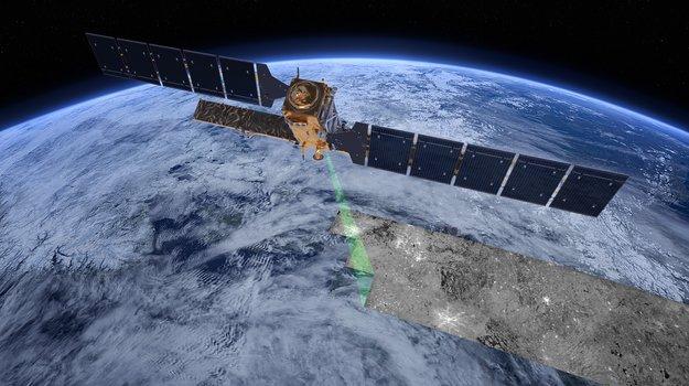 Sentinel-1 radar vision Copyright ESA/ATG medialab