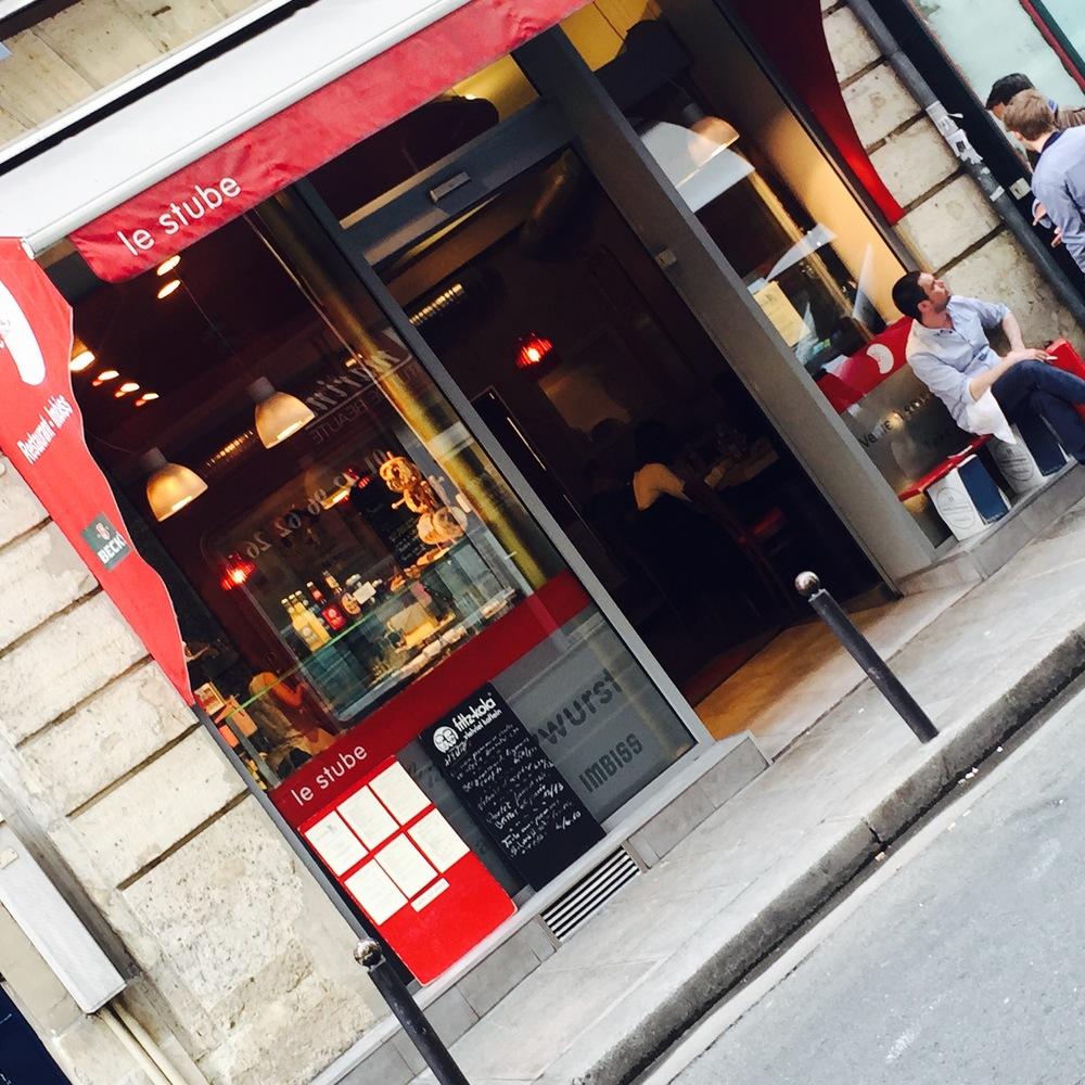 Als je niet genoeg van Curryworsten kan krijgen... 31, rue de Richelieu