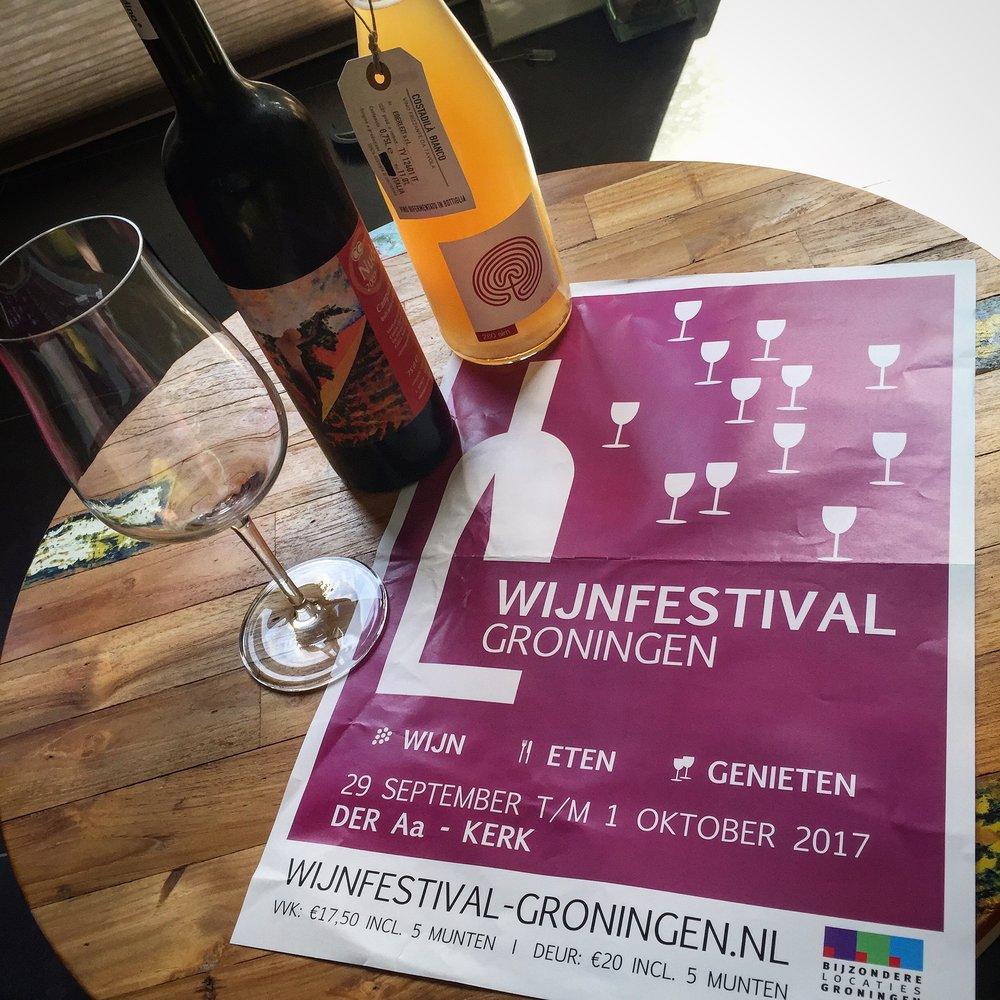 www.vinopertuti.nl bij wijnfestival Groningen