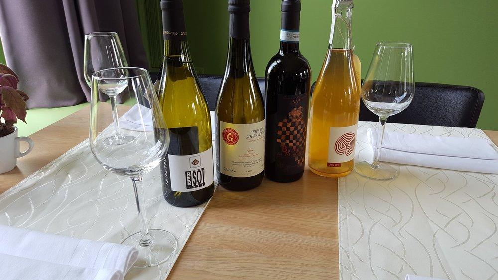 Wijn van Vino Per Tutti bij restaurant Veldzicht