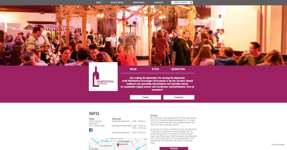 Vinopertutti.nl op wijnfestival Groningen