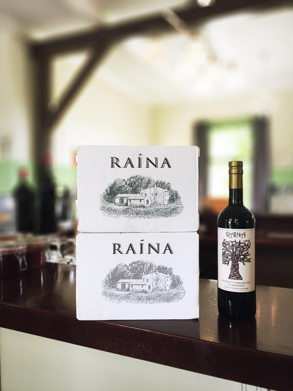 Raina Vermouth Numero Uno