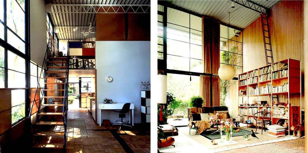Shutters on the lower left side of the photo on the left.  Photo via Architizer & kissmylala blog