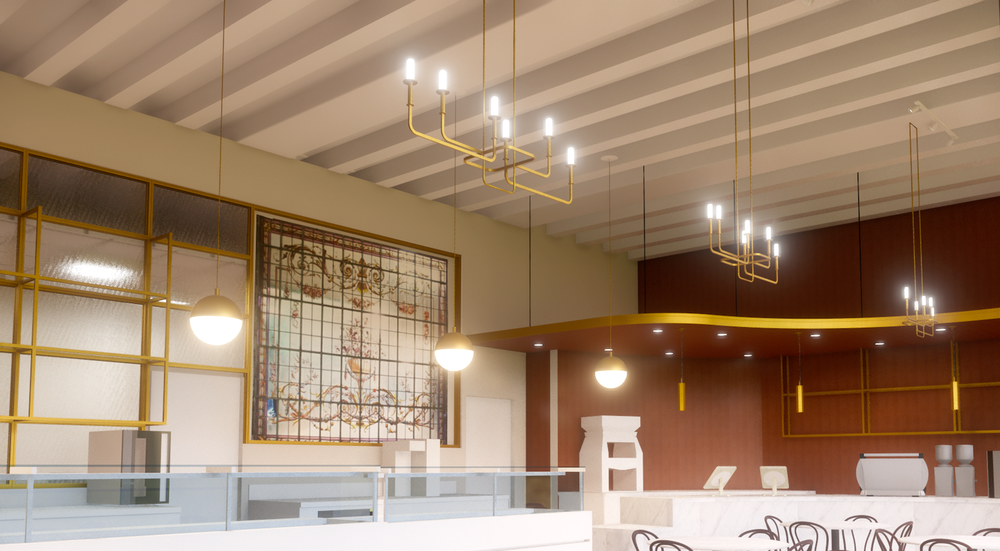 Pendant & chandelier Light fixture study