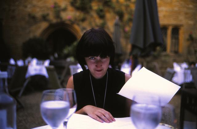 Emily at dinner on Flickr.