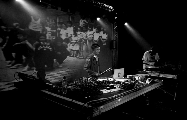 See more from the night  here .     DJ Format at the Concorde 2  on Flickr.