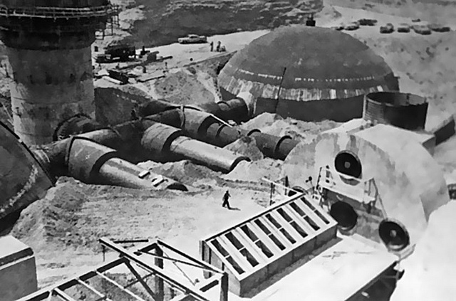 1961 … construction- Titan underground base by x-ray delta one on Flickr.