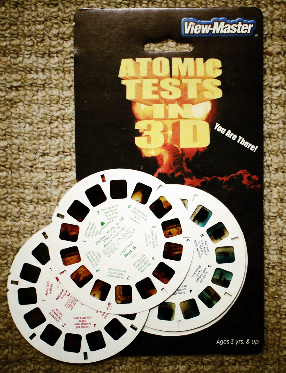 Atomic Tests in 3D.     Given to me by  Emily .