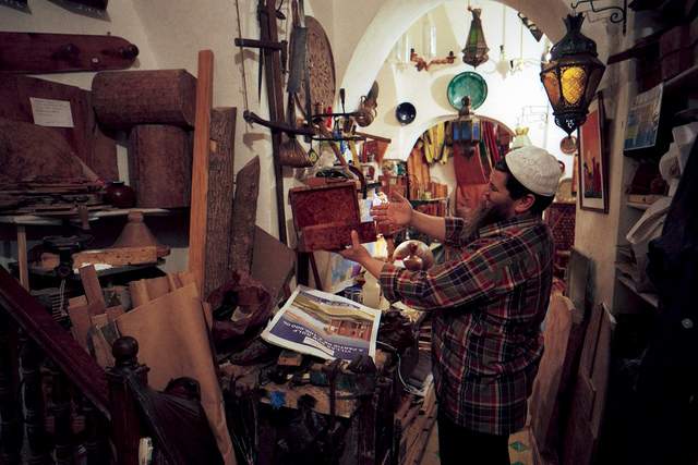 Essaouira Wood shop  on Flickr.  Get as close as you can to the makers.