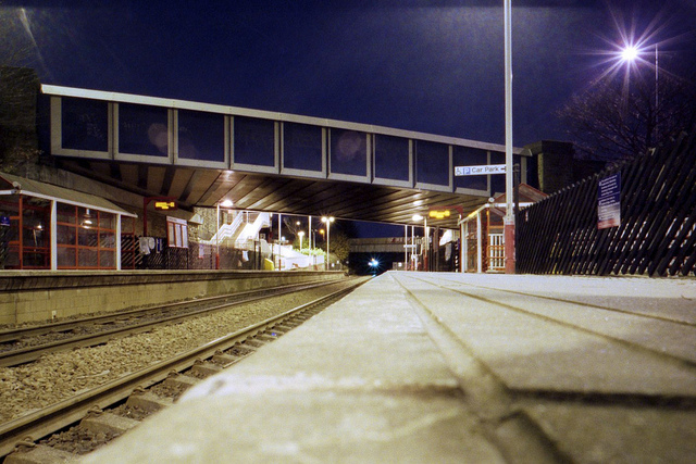 Brighouse Train Station  on Flickr.