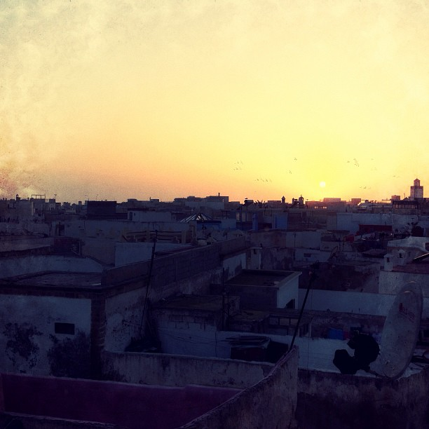 The sun has set on our last day in Morocco. #nkc / on Instagram http://instagr.am/p/Y8g0O/