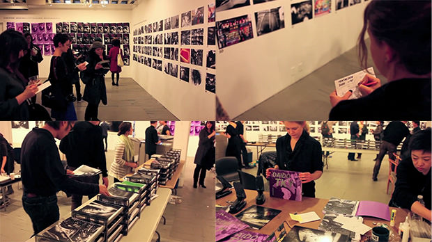 This is pretty cool. (via Photographer Lets Exhibition Attendees Build Their Own DIY Photo Books)
