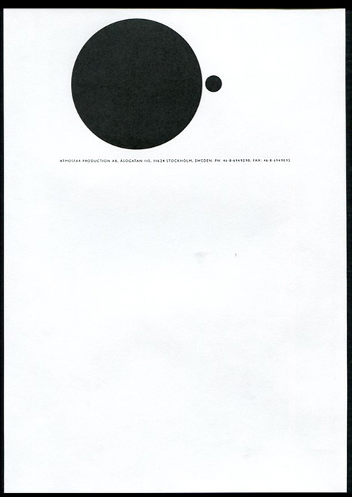letterheady :      Atmosfär Produktion , date unknown |  Source    Stunning. Another letterhead courtesy of  Amassblog .