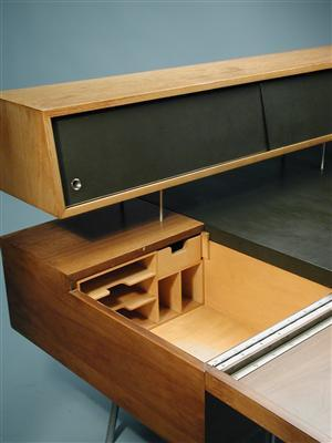 Oh my god, this is beautiful.    Desk, Home Office Desk. Designed by George Nelson for Herman Miller