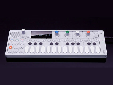 FFFFOUND! | Teenage Engineering's OP-1 synthesizer sure to entice Mark Mothersbaugh