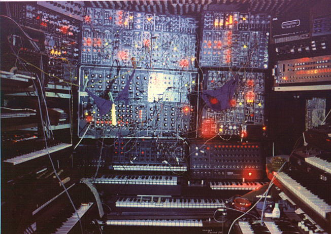Do these pictures make your eyes moist, recalling your younger years when you dreamed of having one of these?   (via  The Official Moog Synthesizer Appreciation Page )