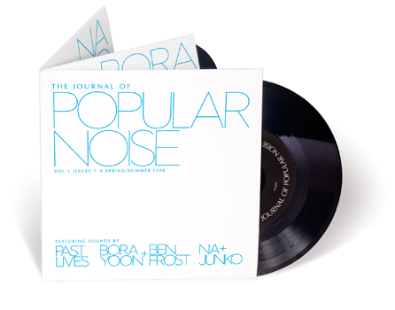 The  Journal of Popular Noise  is a semi-annual audio magazine inspired   by the traditions of pop music, printed periodicals, and the delight   of a finely crafted artifact. Limited edition of hand-folded, letter-press printed copies. To purchase click below.     The Journal of Popular Noise