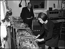 I always find it funny when lost stuff like this turns up - on this occasion a hidden hoard of Delia Derbyshire's work, 267 tapes in all, lain unheard for 30 years.  The track at the bottom of the page is beautiful.    BBC NEWS | Entertainment | Lost tapes of the Dr Who composer