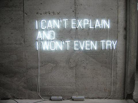 But sometimes I try    Via FFFFOUND!