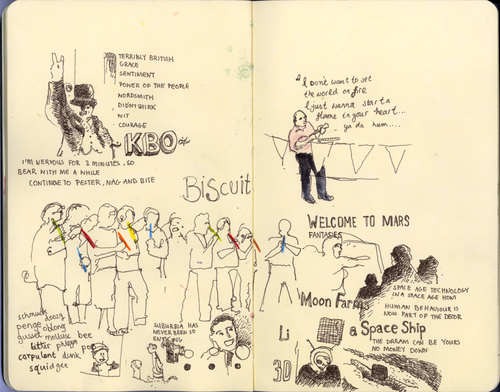 interesting2008 sketches  - lovely way to capture the day