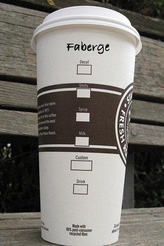 My coffee name   Faberge (via  maxcady808 )