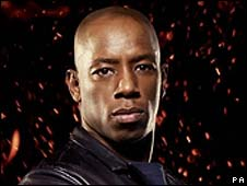 This man don't need no help playing the jester. What, did they twist his arm, or maybe it was the money. What an idiot.   'Jester' Ian Wright attacks BBC