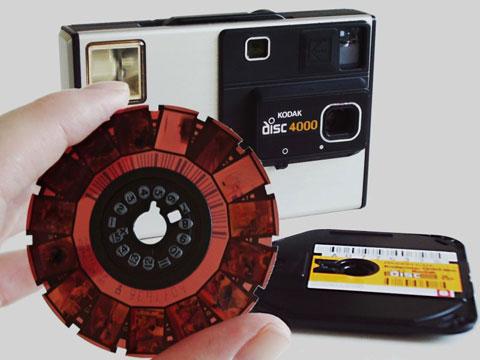 Bad Old Days: Kodak Disc 4000 Camera